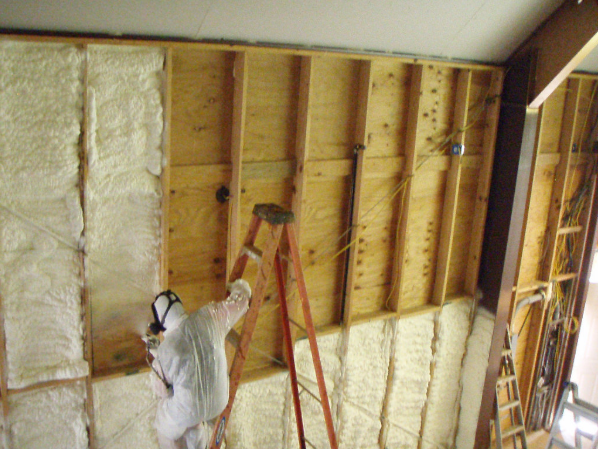 Foam Insulation Work